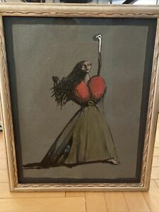 Femme (Scarlet) - Moyna Flannigan (2010). Original Auction Price $2,500.