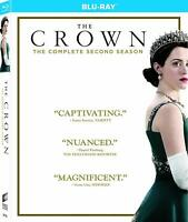 The Crown The Complete Second Season (Blu-Ray) NEW Factory Sealed, Free Shipping