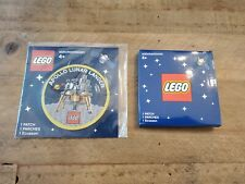 Lego Apollo Lunar Lander & ISS International Space Station Patch lot 21321 10226