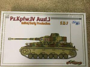 dragon brand Pz.KPfw.IV Ausf.J early production  tank 1/35 scale