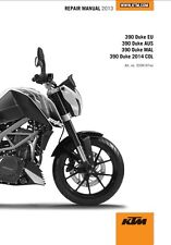 KTM 390 Duke Service Repair Maintenance Workshop Manual 2013-2016 [**PDF**]