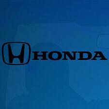 2 X Honda car-window-vinyl calcomanía / etiqueta adhesiva -216