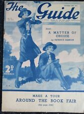 More details for vintage the guide girl guide magazine vol 17 #33 - november 25th 1937 - complete