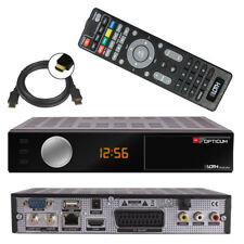 OPTICUM Sloth S1 Digitaler HD SAT Receiver mit IPTV USB Web Radio HDMI LAN HDTV