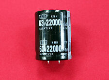 NEW 22000 uF - 63V ELECTROLYTIC CAPACITOR 60x35mm