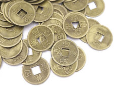 50pcs replica Antique Chinese feng shui Coins Lucky Money Craft DIY