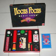 HOCUS POCUS MAGIC SHOW Scatola magica 100 Tricks – Jumbo 1989 Magia No Silvan