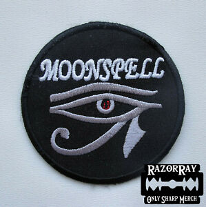 MOONSPELL - Embroidered Patch / Rotting Christ Tiamat Type O Negative Septicfles