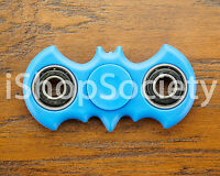 Bat Fidget Spinner Tri-Spinner EDC Figet Hand Desk Focus Toy ADHD -USA- BLUE