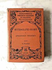 Mythographi Graeci Vol. I: Apolodoro pediasimus, ed. richardus Wagner, 1894