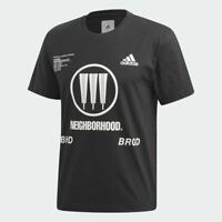 adidas by Neighborhood (NBHD) Short Sleeve Tee Sizes XS-XXL Black RRP £70 FQ6816