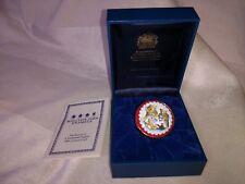 Halcyon Days Porcelain Trinket Box The Three Bears Teddy Bear original box