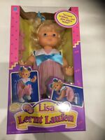 Lisa Lernt Laufen Puppe Vintage Neu & Ovp - Hasbro 1991 Baby Wanna Walk