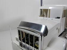 Custom Front Hood Stone Bug Deflector Shield Tamiya 1/14 Semi King Grand Hauler