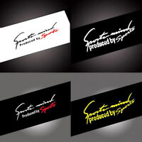 New Racing Car Stickers Auto Reflective Car Vinyl Graphic Decal Random 1 pcs