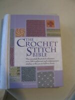 The Crochet Stitch Bible illustrated reference 200 traditional contemporary pats