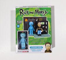 NEW Rick and Morty Construction Sets Smith Family Garage Rack MIB McFarlane Toys
