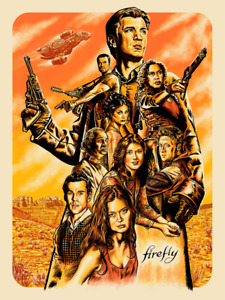 """Firefly Heroes Limited Giclee Print Art Poster #200 18"""" x 24"""""""