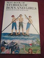 VINTAGE HARDCOVER 1958 Best Book Of Stories Of Boys and Girls,Edited by Pauline