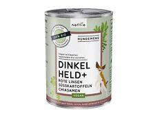 naftie Bio Dinkel Held+ veganes Hundefutter Nassfutter Menü, 12x400g