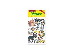 Lutz Mauder - Tattoos Bauernhoftiere - 44655 - Für Kinder - Kosmetikrichtlinie