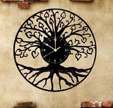 Orologio disco vinil clock orologio da parete chitarra basso albero della vita