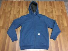 MEDIUM Carhartt 100072 Collinston Brushed Fleece Sherpa Lined Hooded Sweatshirt