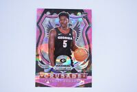 ANTHONY EDWARDS PRIZM ROOKIE CARD RC CRACKED ICE PINK SP 2020 Panini Prizm Draft