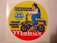 1 AUTOCOLLANT cyclo  mobyx   MOTOBECANE - MOTOCONFORT