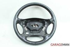 01-04 Mercedes W203 C240 C320 4 Spoke Steering Wheel Black 2034600903 OEM