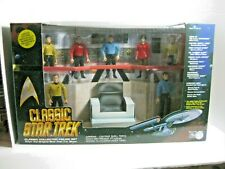 Playmates Toys Classic Star Trek Action Fig. Set New Nrfb Minor Box Issues #6090