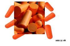 10~200 Pairs Uncorded Disposable Soft Polyurethane(PU) Foam Ear Plugs NRR 32 dB