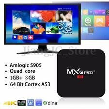 MXQ Pro S905 4K Android 5.1 Quad Core Smart TV BOX  Media Player + FREE Keyboard