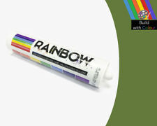 Fern Green Colour Silicone Sealant Rainbow 310ml RAL 6025 Indoor & Outdoor use