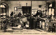 CPA Ecole professionnelle st michel - en priziac  .- La couture  (193029)