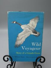 1966 WILD VOYAGEUR CANADA GOOSE ADRIENNE JONES ILLUSTRATED SIGNED 1ST ED bk2463