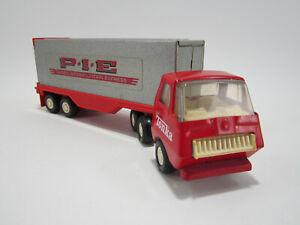 Vintage 1970's Tiny Tonka - Private Label   -   P. I. E. Tractor Trailer /Semi