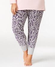 Alfani Women's Printed Gray Pajama Bottom Leggings Size 3XL