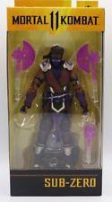 "McFarlane Toys Mortal Kombat 11 Sub-Zero Winter Purple Variant 7"" Action Figure"