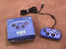 Hori PlayStation 4 Mini Wired Gamepad PS4-100U Blue
