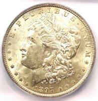1897-O Morgan Silver Dollar $1 Coin - ICG MS61 (Rare in UNC BU) - $1,590 Value!