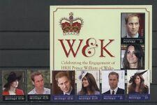Kate, William, Royal Wedding - St.Vincent Mustique - ** MNH 2011