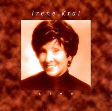 FREE US SH (int'l sh=$0-$3) NEW CD Irene Kral: Live Live
