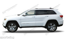 BODY SIDE Moldings PAINTED Trim Mouldings For: JEEP GRAND CHEROKEE 2014-2017