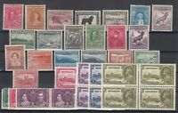 AN5420/ NEWFOUNDLAND – 1932 / 1938 MINT SEMI MODERN LOT – CV 130 $