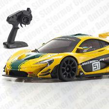 Kyosho Mini-z RWD McLaren P1 GTR Giallo/verde 1/27 da Auto Mr-03 Readyset RTR