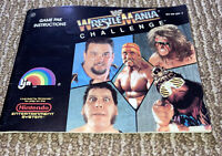 WWF Wrestlemania Challenge Nintendo NES Instruction Manual Only Excellent