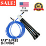 Jump Rope - Cross Fit Boxing MMA Fitness Training - Speed Adjustable Jump Rope