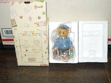 New In Box,1997 Cherished Teddies Lloyd, Ct103, Charter Membership Figurine