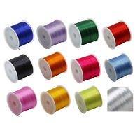 60m Stretchy Elastic Crystal String Cord Thread For Jewelry Making F8B3